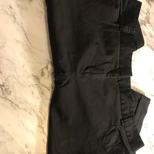 Black Bermuda Shorts size 18W